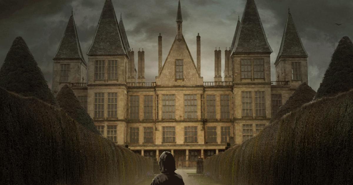 A mansão dos Malfoy.