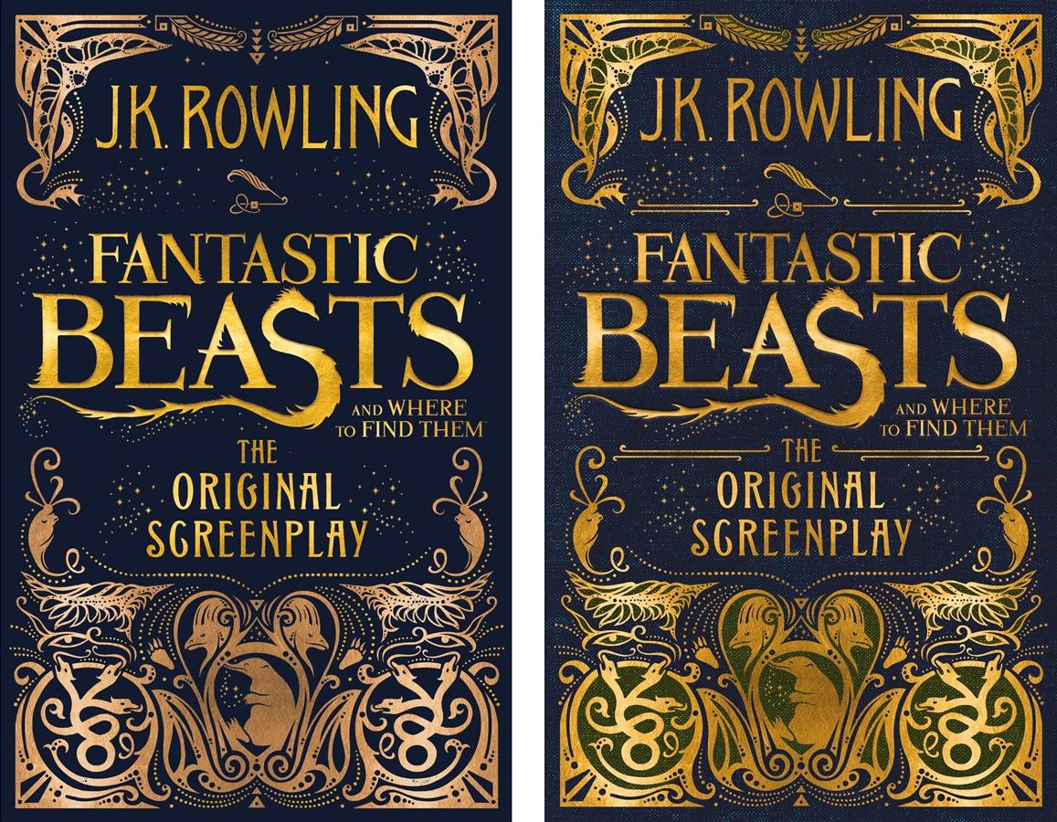 À esquerda, a capa britânica, da Little Brown, e à direita a americana, da Scholastic.