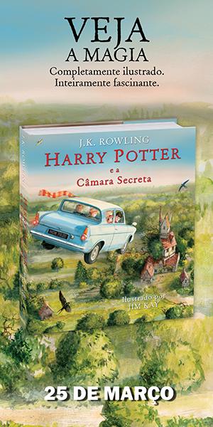 Pré-venda de Harry Potter e a Câmara Secreta, ilustrado por Jim Kay