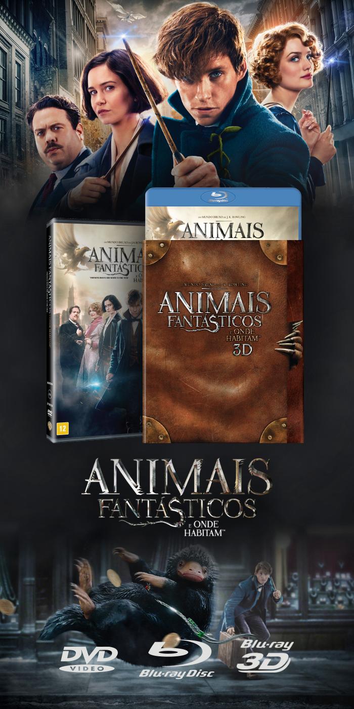 Compre o DVD ou Blu-ray de Animais Fantásticos e Onde Habitam!