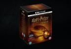 Uma foto da capa do box em 4K de Harry Potter.