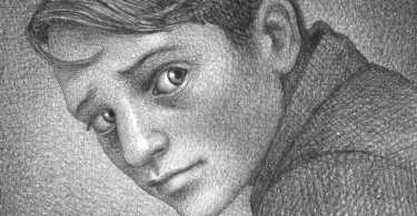 Um garoto olha para a direita com uma expressão de dúvida.