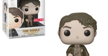 Tom Riddle adolescente em sépia.