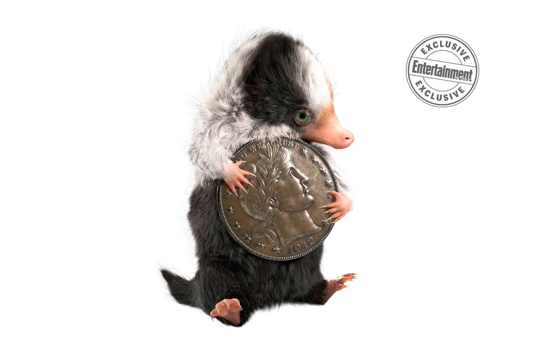 Desenho do bebê de pelúcio segurando uma moeda que é do tamanho de sua cabeça.