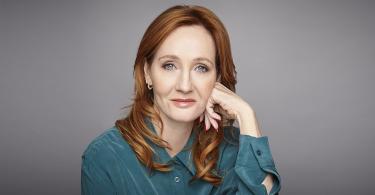 Retrato de J.K. Rowling.