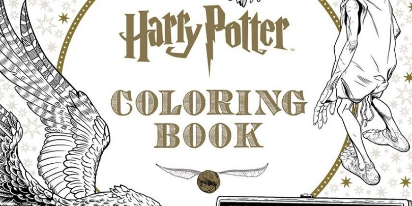 Primeiro Livro De Colorir Oficial De Harry Potter Sera Lancado